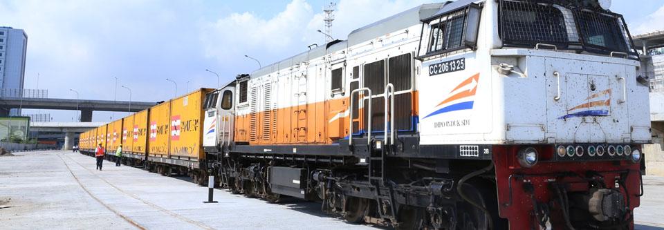 jasa pengiriman kontainer dengan kereta api